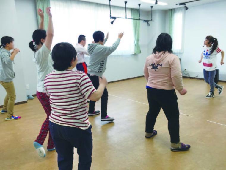 ダンスプログラムの写真